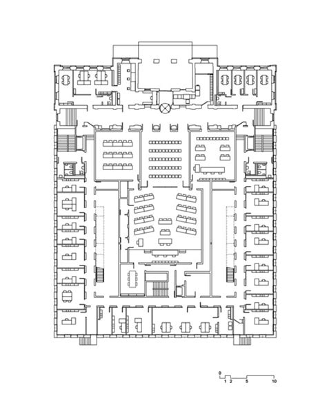 courtroom floor plan federal criminal court durisch nolli architetti