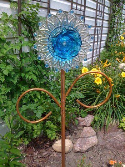 garden crafts to make easy to make dish flowers hometalk