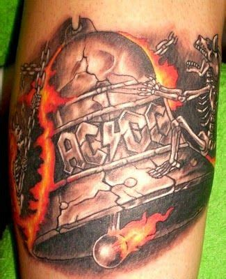 dc tattoo designs ac dc hells bells ac dc songs i