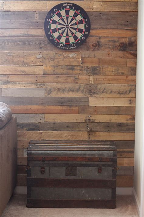 pallet wood accent wall for the home pinterest other honeysuckle pallet accent wall