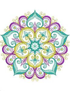 mandala essence machine embroidery designs sew swell