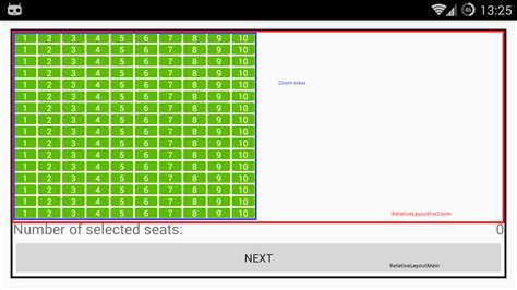 layout params height how to center gridview