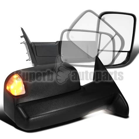 2012 dodge ram 1500 lights 2009 2012 dodge ram 1500 power heat flip up tow mirrors
