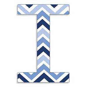 Decorate A Room Online Free stupell industries tri blue chevron 18 inch hanging letter