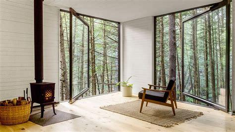 tiny cabin    horizontal treehouse curbed