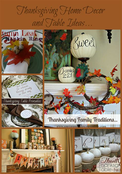 Thanksgiving Home Decor Ideas by Thanksgiving Home Decor And Table Ideas