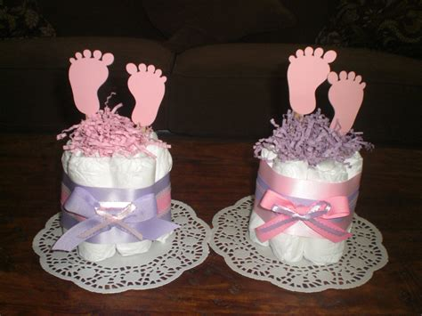 baby feet diaper cake baby shower centerpieces other sizes and