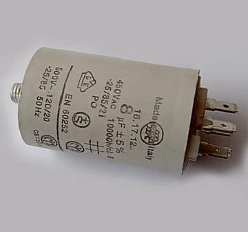 capacitor for burner starting capacitor for burner fan electric motor