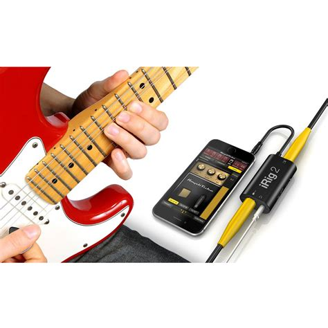 Promo Irig 2 Guitar Interface ik multimedia irig 2 mobile guitar interface at gear4music