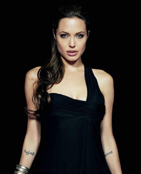 angelina jolie h tattoo 12 celebrities with arabic tattoos