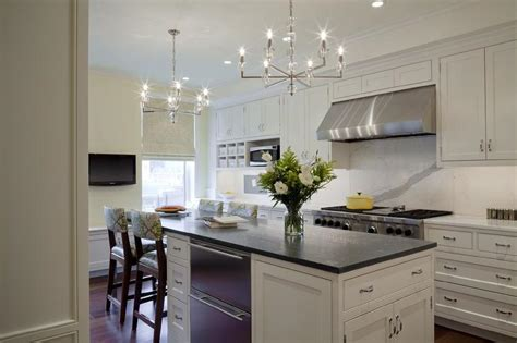 Built In Banquette   Transitional   kitchen   Curtis and
