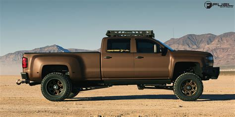 Chevrolet Silverado 3500 HD Hostage II Dually Rear   D232