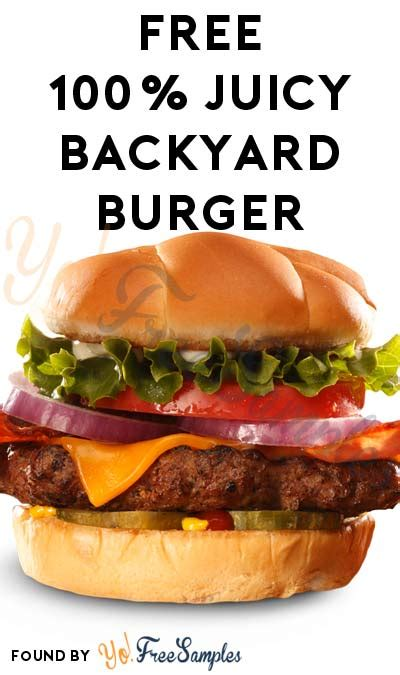 backyard burgers coupons free backyard burger coupon yo free sles