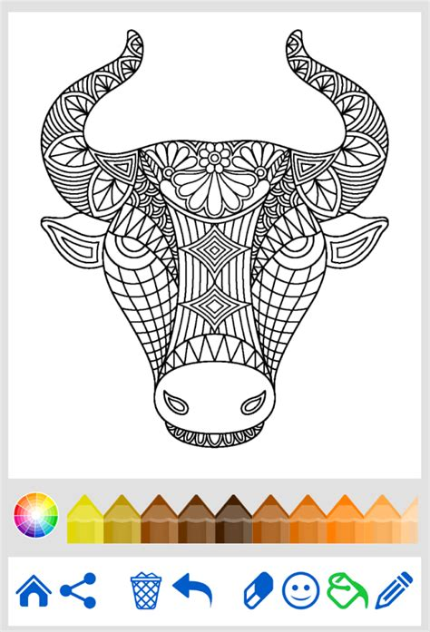 Coloring Book Animal Mandala Android Apps On Google Play Coloring Book App