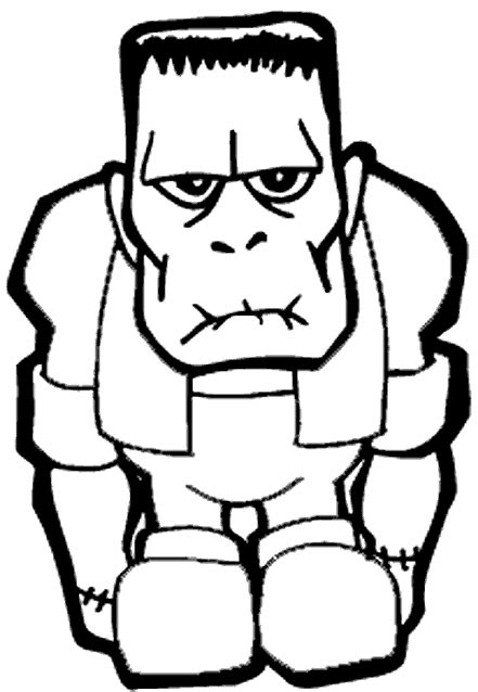 halloween coloring pages of frankenstein frankenstein free halloween coloring pages for kids