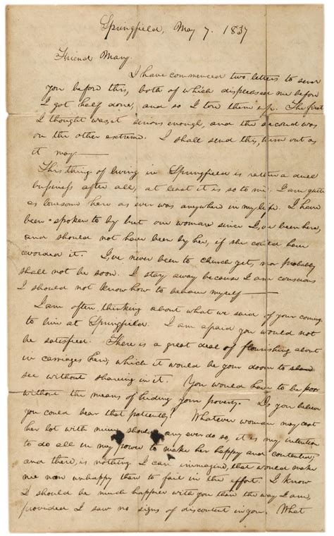 abraham lincoln letter to the abraham lincoln s letter to owens breaking an
