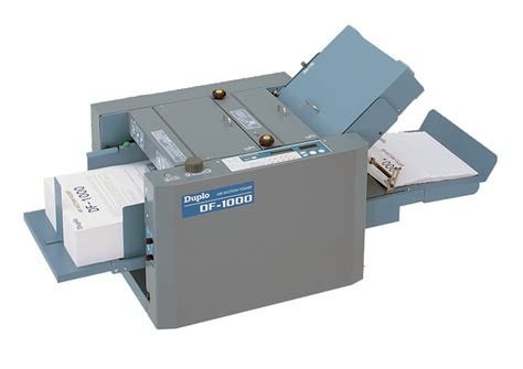 Paper Folding Device - duplo df 1000 paper folder feeding and finishing xerox