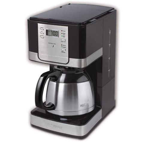 Mr. Coffee JWTX95 8 Cup Thermal Coffeemaker, Black   cheap Coffee Maker on sale