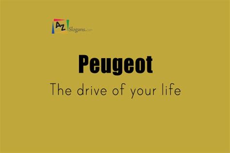 drive the life peugeot the drive of your life