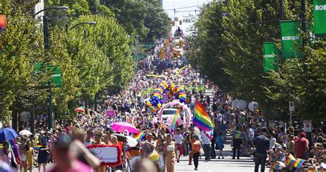 new year vancouver parade 2015 countdown to vancouver pride festival 2014 is on