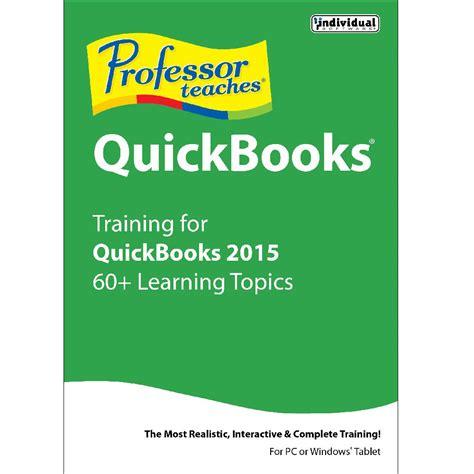 quickbooks tutorial for beginners 2015 individual software professor teaches quickbooks 2015 prf q15