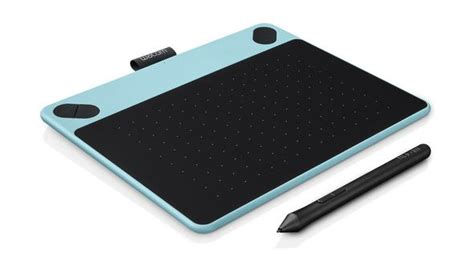 Wacom Intuos Comic Pen Touch Small Blue Cth 490 wacom intuos comic pen and touch drawing tablet xcite