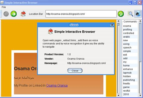 java swing web browser osama oransa s blog java simple interactive browser