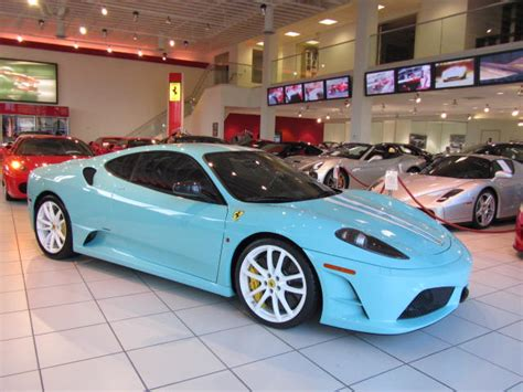 tiffany blue hummer ferrari 430 scuderia is turquoise als geen ander autoblog nl