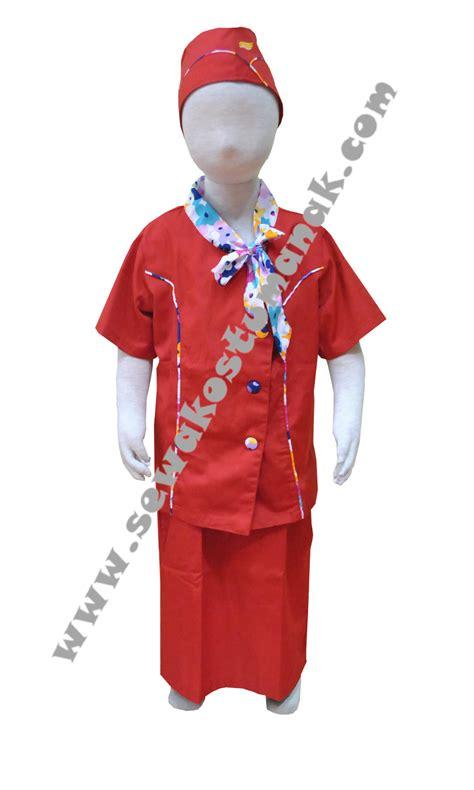 Tenda Anak Second baju pramugari anak kostum pramugari