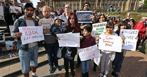 birmingham mail jobs section vigil held in birmingham for desperate syrian war refugees