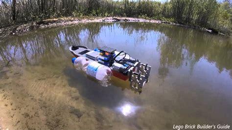 lego rc boat instructions lego technic rc boat 1 with bottles youtube