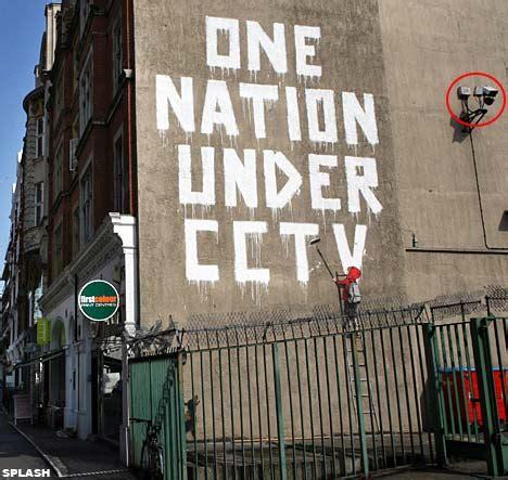 banksy graffiti street art senses lost