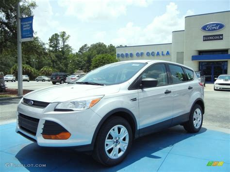 2013 ford escape colors 2013 ingot silver metallic ford escape s 67566213