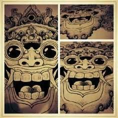 tattoo da indonesia barong bali wonderful indonesia ontel coffee tattoo
