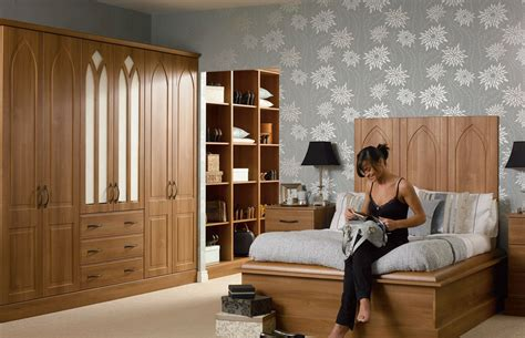 medium bedroom ideas premier porto wardrobe doors in medium walnut by homestyle