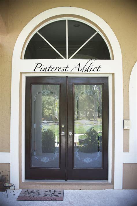 dark brown front door freshly painted door come on in pinterest addict