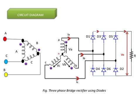 3 phase diode bridge 3 phase diode rectifiers power electronics