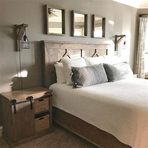 diy rustic bedroom set plans  shantys tutorials bedroom decor modern farmhouse