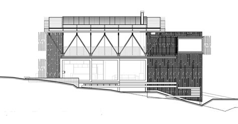 Tower Floor Plans Under Pohutukawa Beach House By Herbst Architects Homedsgn
