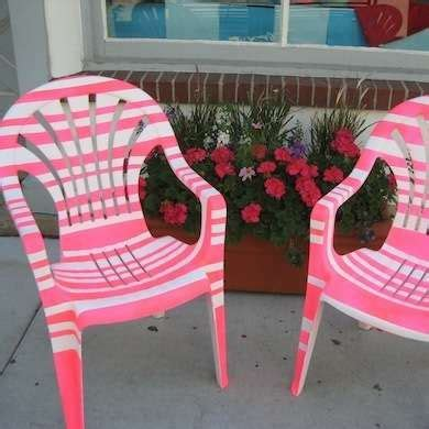 Paint For Outdoor Plastic Furniture by Best 25 Painting Plastic Chairs Ideas On Painting Plastic Furniture Outdoor