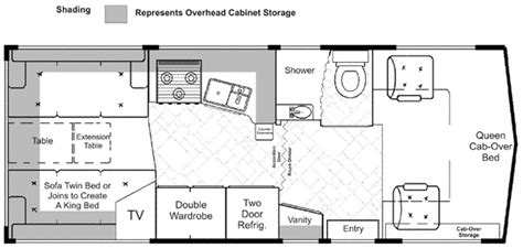 Winnebago Rialta Rv Floor Plans by Lazy Daze Floor Plans