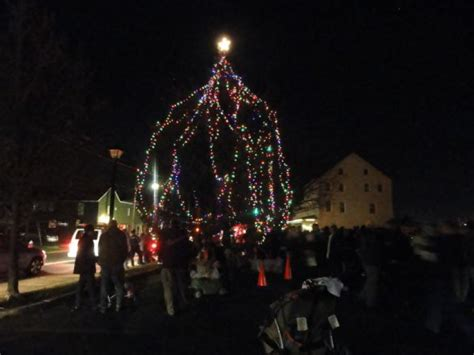 newtown christmas tree lighting is friday newtown pa patch