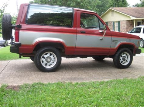 how make cars 1985 ford bronco security system southern 1985 ford bronco ii xlt 4 wheel drive no rust 136 000 miles classic ford bronco ii