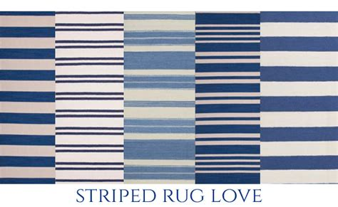 blue and white stripe rug the pink pagoda blue and white monday
