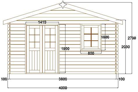 abri de jardin pyr 233 n 233 es 12 m 178 en bois en kit sans permis
