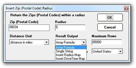 emirates zip code cdx technologies area analysis with cdxzipstream