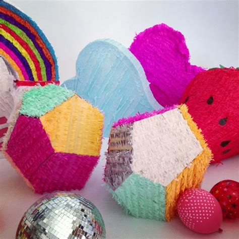 Handmade Pinatas - geo pinatas by bramble workshop handmade