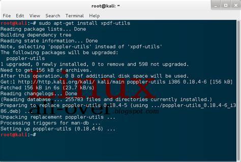 how to install qpdf how to remove pdf password via linux kali linux tech