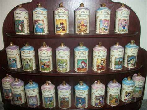Disney Spice Rack lenox walt disney spice jar collection and rack