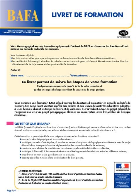 Lettre De Motivation Stage Pratique Bafa Lettre Motivation Animateur Bafa Stage Pratique Ccmr